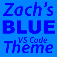 BLUE Visual Studio Code Theme